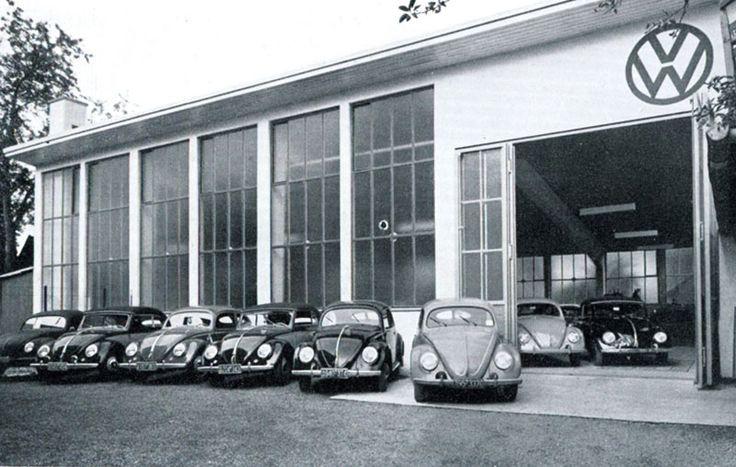 287 best images about old garage gas station gaspump etc on pinterest technology pump - Garage volkswagen orleans ...