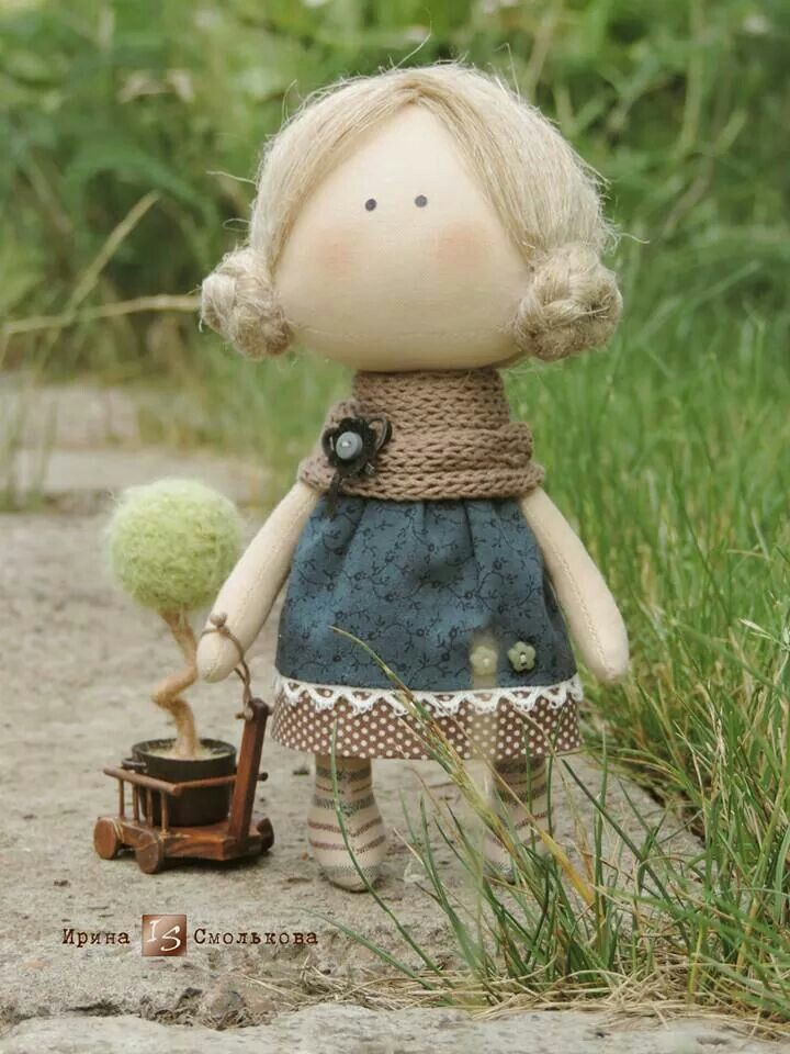 Adorable Doll By Irina