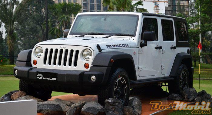Jeep Wrangler Rubicon 10th Anniversary Sudah Terjual  40 Unit