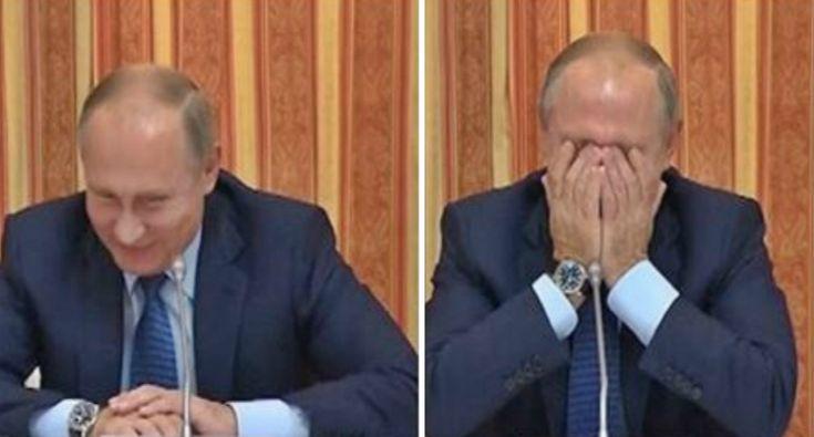 Putin Ri à Gargalhada e Corrige Ministro Da Agricultura Que Propôs Exportar Carne De Porco Para a Indonésia