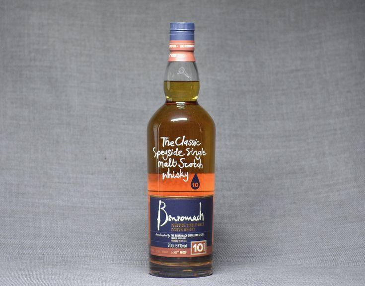 - Beauty Is A Beast Benromach 10 100 Proof Single Malt Scotch Whisky Rich Sweetness, Chocolatey Malt, Earth Smoke $120 | Click to find!