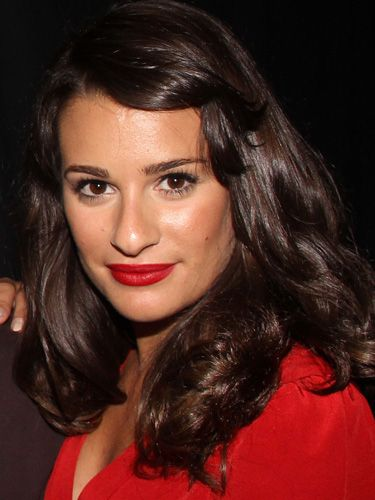 HAIRCUTS AND STYLES FOR GROWING OUT BANGS!  Pinned Over  This is the easiest way to get your fringe off your forehead. Simply pin it to the side with a bobby pin (or a jeweled clip if you're feeling festive) for a pretty, retro style like Lea Michele's.