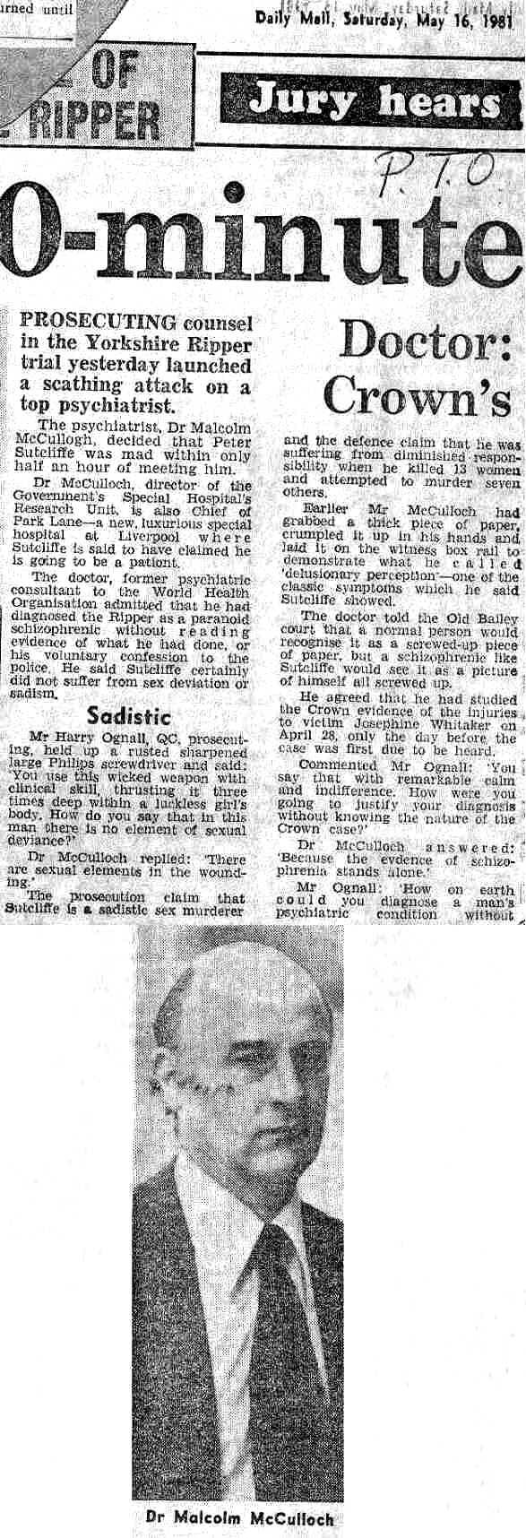 Yorkshire Ripper article