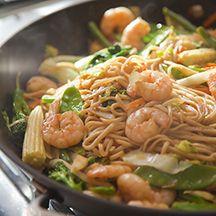 Chinese Stir Fry Prawns