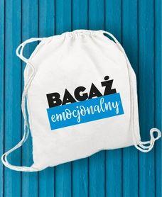 #bagażemocjonalny #plecakworek #blueblack