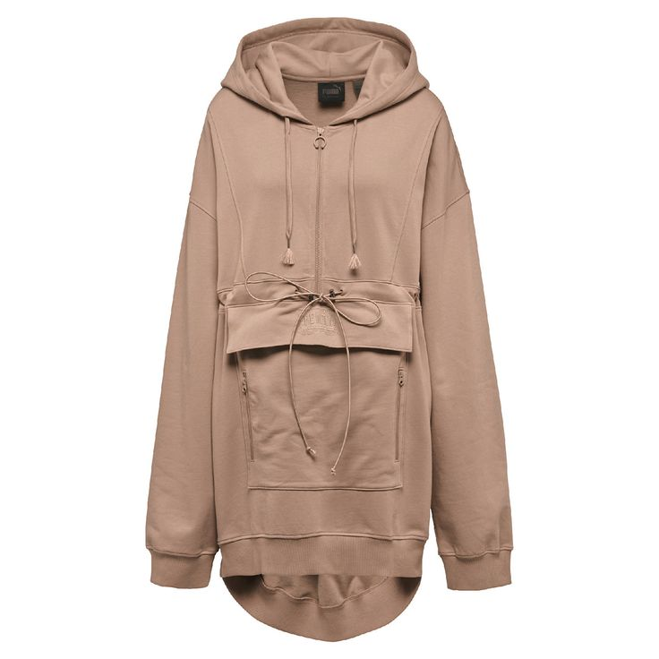Moletom Puma Sweatsuit Pullover - Marrom Claro