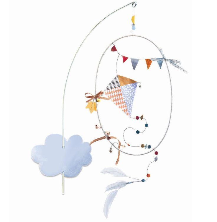 Djeco uro - I skyerne - Tinga Tango Designbutik #djeco#legetøj#børneværelse
