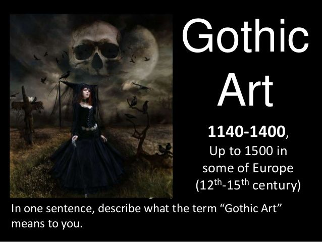 Gothic Art: Chapter 16