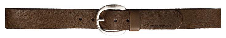 Gürtel  CROSS Jeans® Damen Gürtel mit runder silberfarbenen Schliesse, edel geprägt, echtes Vollbüffelleder, 4 cm breit, nickelfrei, Gürtelgrössen in cm, gemessen von Schliesse bis mittlerem Gürtelloch Material: 100 % Leder...