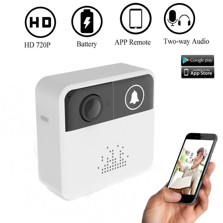 Wireless Video Doorbell Camera Ring WiFi Camera Kit Audio