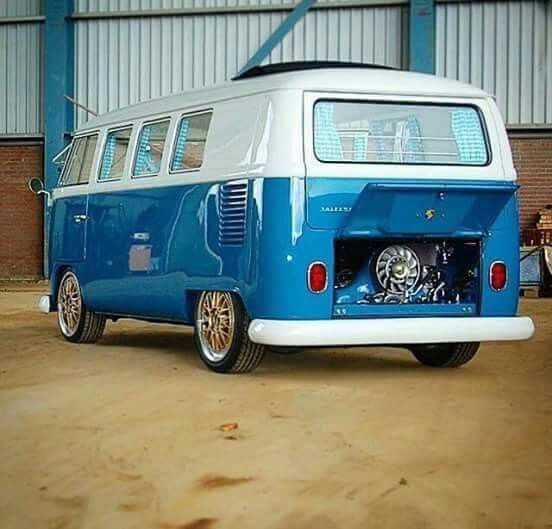 Revamped 1967 Volkswagen Bus Becomes Back To The Future