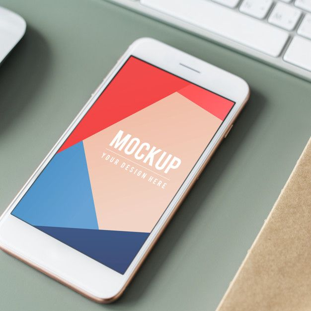 Download Premium Mobile Phone Screen Mockup Template For Free