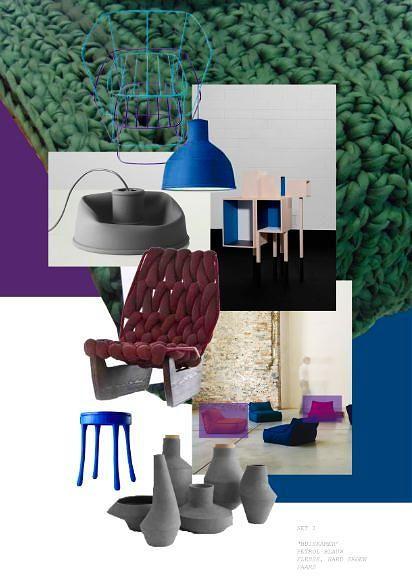 Winter Woontrend 2011-2012 Mixed Moods in Blauw, Groen en Paarse Woonaccessoires LEES MEER Interieur Ideeen ... (Foto perscentrum Wonen, Studio Aandacht & Elle Decoration op DroomHome.nl)