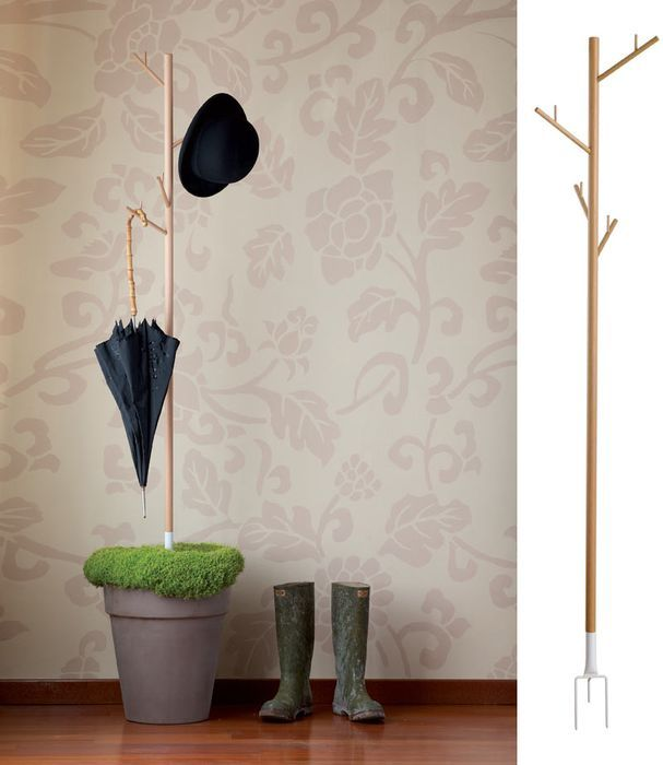 26 best images about hangers diy ideas on pinterest for Creative ideas for coat racks