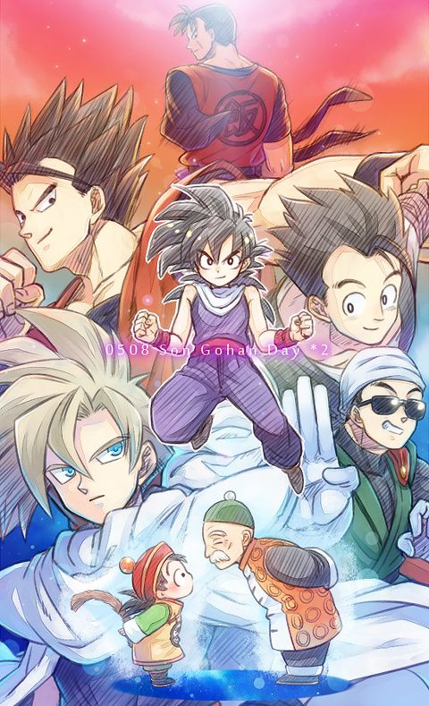 """#5 Gohan   I'm going for all Gohans (besides grandpa Gohan) just because. We got to see his character grow and develop and when he got mad, The villian instantly regrets what they did to cause this change. Ands when he is a adult. He becomes what Jack calls a boss. """"Fight you? No, I'm going to kill you."""" #Wolfthekid"""