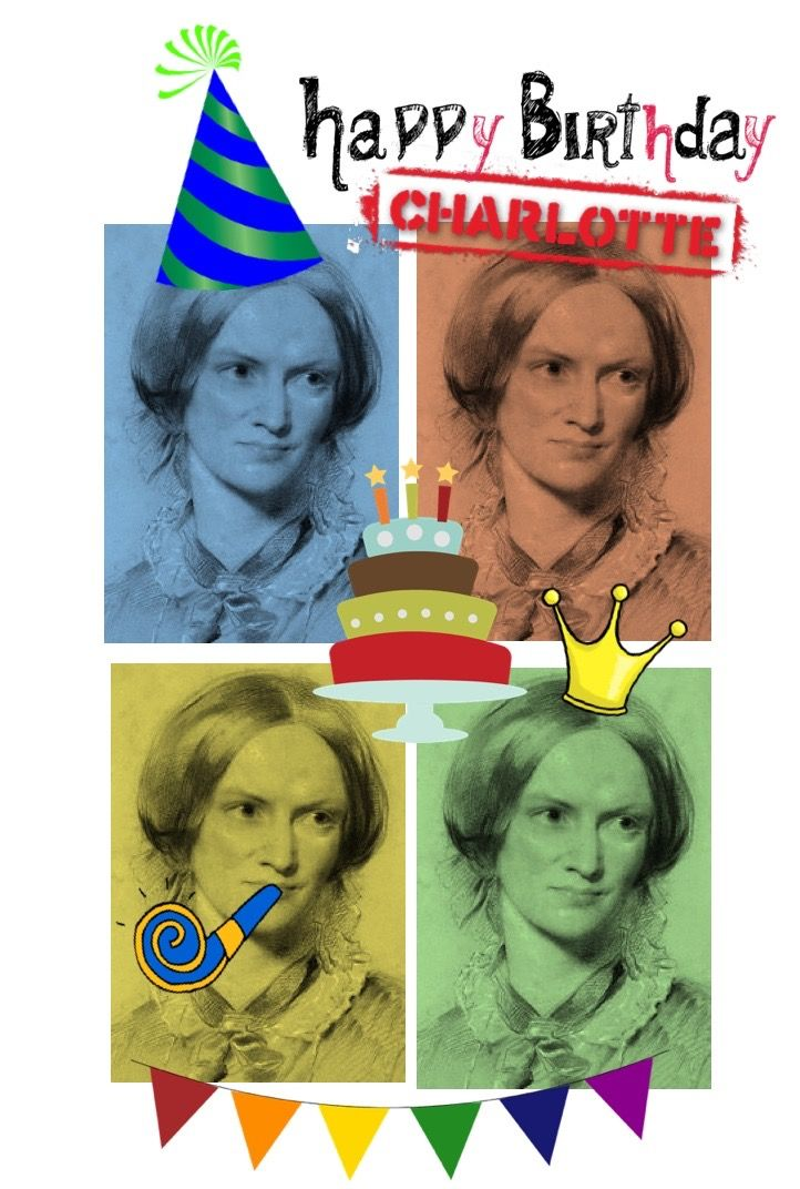Happy Birthday, Charlotte Brontë!  Read all about this famous author and take a quick quiz. https://readinginthegarden.blogspot.com/2018/04/charming-charlotte-bronte.html