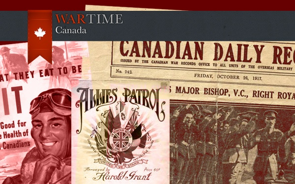 Wartime Canada is an education website that gives users a window into the Canadian experience during the First and Second World Wars. Complete with an easy to use information architecture, artifacts and documents dating back to the 1940s, Wartime Canada is a unique website that is sure to keep its users interested for years to come.
