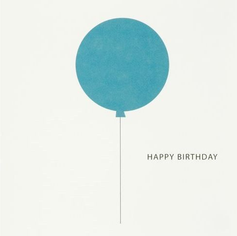Minimalist birthday card :|