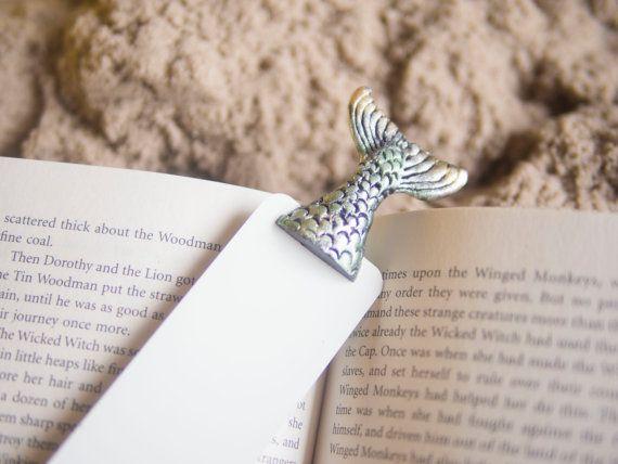 Sirena racconto nel libro. Segnalibro arte insolita. di MyBookmark