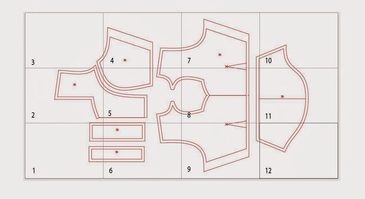 Fashion CAD Pattern Making - Free Sewing Pattern Download: Princess Cut Blouse / Single Katori Paper Pattern Cutting - Free Download