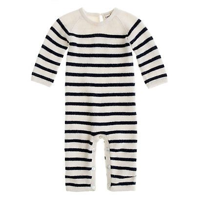 "Ouef ""Lucien"" Striped Baby Jumper"