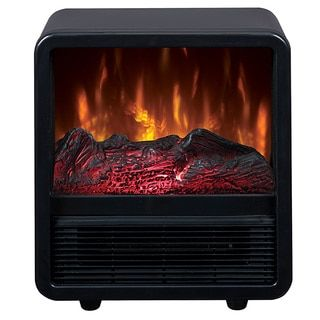 Shop for Duraflame CFS-300-BLK Portable Electric Personal Space Heater Cube with Electric Fireplace. Get free delivery at Overstock.com - Your Online Home Decor Outlet Store! Get 5% in rewards with Club O!