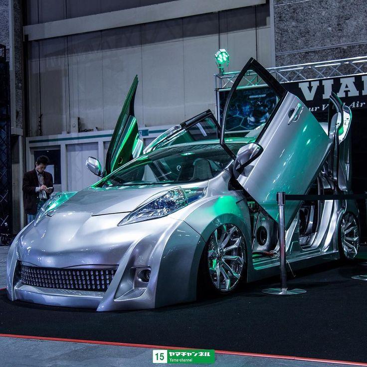 Osaka Auto Messe  Customized EV #leaf #nissan #ev #evcar #electricvehicle #やっちゃえ日産 #osakaautomesse2016 #osakaautomesse by yama_channel