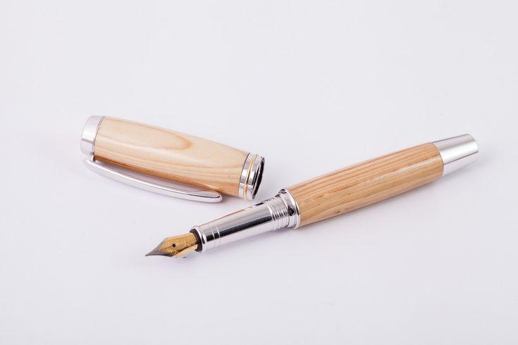 Holzfüllfederhalter-Handarbeit-Flieder