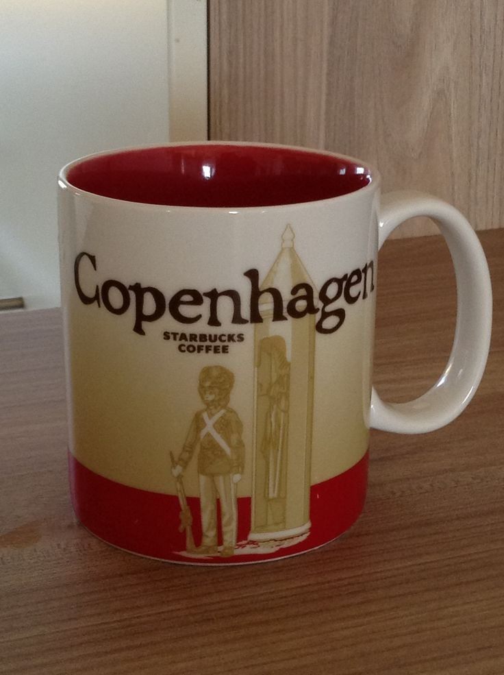 Copenhagen Starbucks City Mug