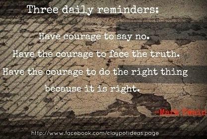 Courage quotes via www.clapotideas.com
