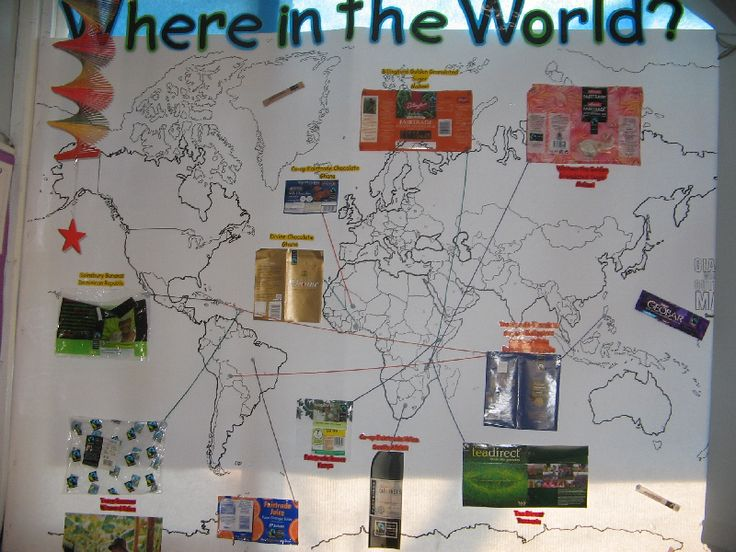 Fair Trade classroom display photo - Photo gallery - SparkleBox