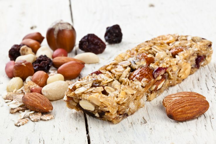 Have delicious cereal bars at your day breaks!