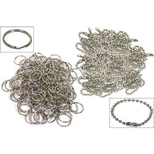 200 Split Rings Ball Chains Keychain Nickel Plated by Fin... https://smile.amazon.com/dp/B000RAYJ3W/ref=cm_sw_r_pi_dp_WnULxbTB5WBYE