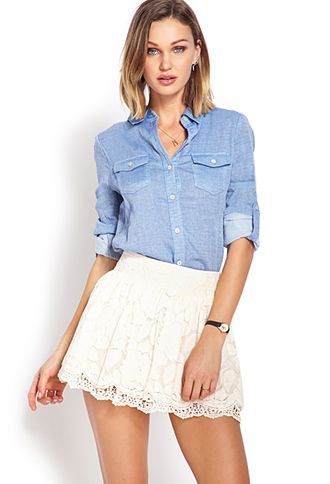 Favorite Lace Skirt | FOREVER 21 - 2000107747