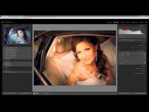 Обработка в фотошопе свадебных фотографий. Цветокоррекция