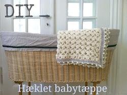 DIY Hæklet babytæppe