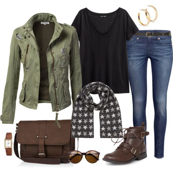 Cute and casual winter outfit, this is a great way to steer clear of a solid black wardrobe! Description from pinterest.com. I searched for this on bing.com/images