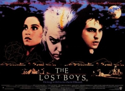I have a replica of this British Lost Boys poster in my hallway.