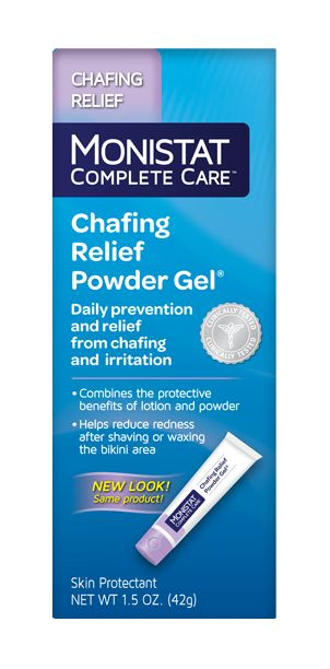 Monstat<sup>®</sup> Vaginal Chafing Relief Powder Gel