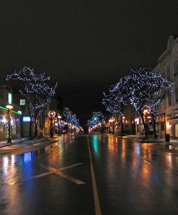 Early Morning Lights, Waterloo, Ontario, Canada Copyright: Kim Martin