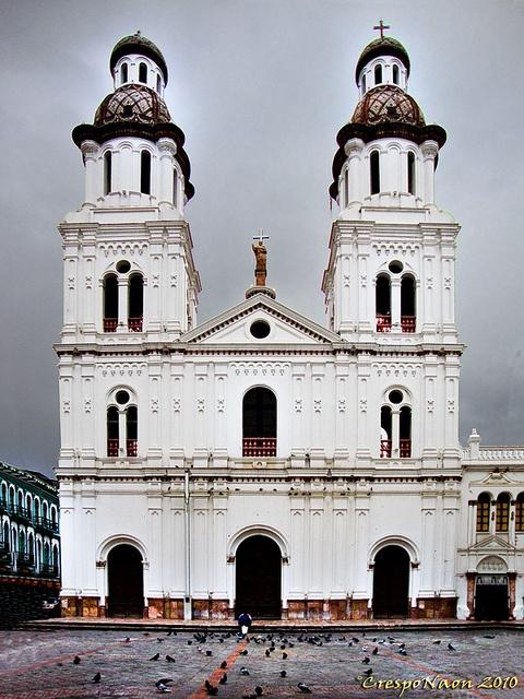 Iglesia de Santo Domingo. Cuenca. Ecuador- where we swore forever.