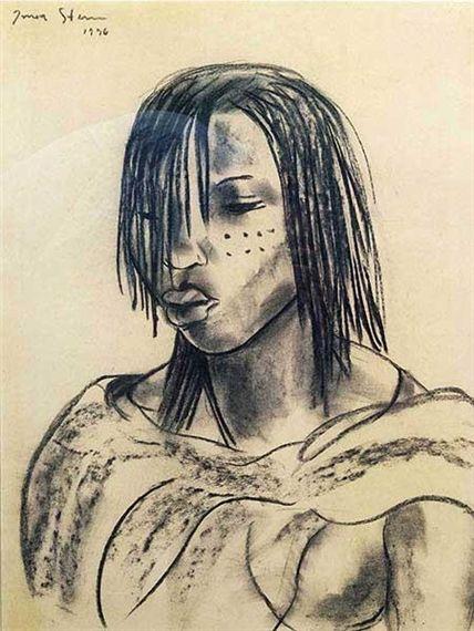 Irma Stern, Portrait of a Woman