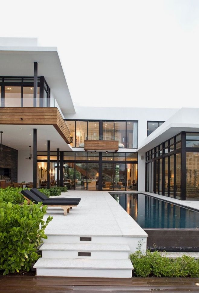 Cassidy Hager 9/24 Regarding architecture and trend research one style that has been very popular in the past 10 years is modern architecture in homes. This is style that typically portrays wealth and status. Many new homes being built contain modern architecture.