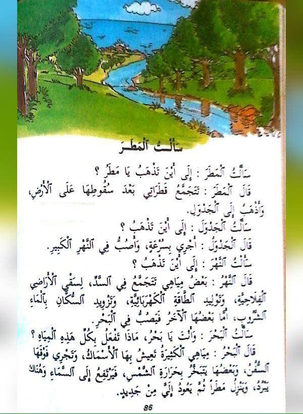 كتاب القراءة المغربي السنة الثانية من التعليم الأساسي Arabic Alphabet For Kids Learning Arabic Arabic Lessons