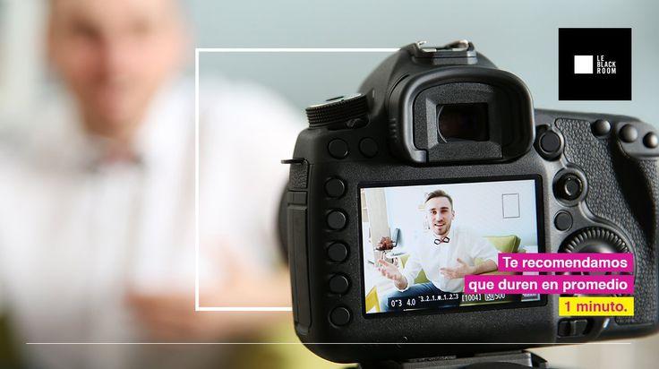 #Consejo: Procura que tus videos tengan una duración promedio de 1 minuto.