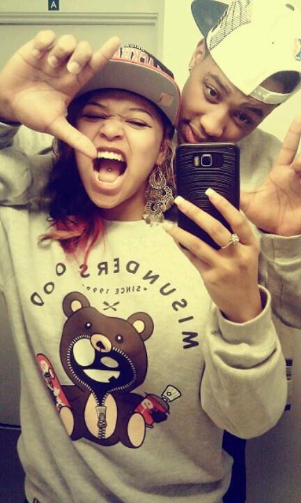 <33 dope fashion. dope couple. red hair dye. misunderstood.
