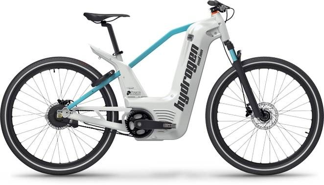 αlpha hydrogen fuel cell electric bike takes 2 minutes to fill and has a 60+ mile range