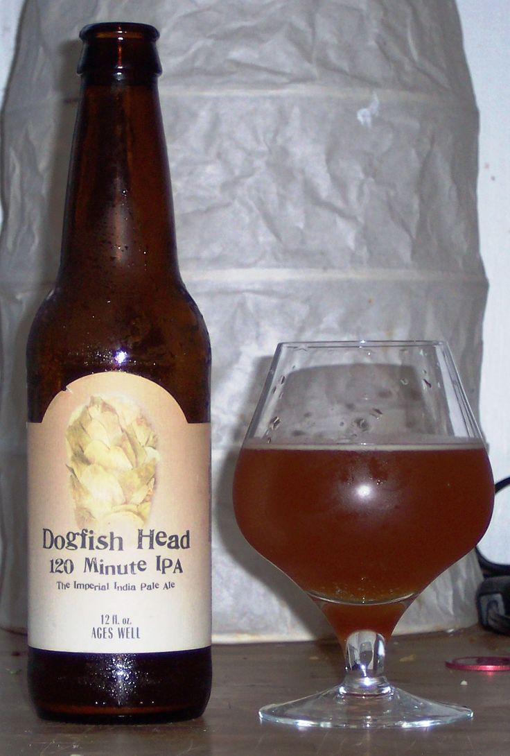 My second favorite beer. Dogfish Head 120 Minute IPA. It is my favorite IPA, that stands at a whopping 20 percent alcohol. This beer is really an example of impeccable balance and production. The alcohol does not punch hard on the palate, as it is exquisitely balanced with the sugar, hop flavor, etc. It has a distinct note of honey, paired perfectly with the vegetal flavors from the hops.