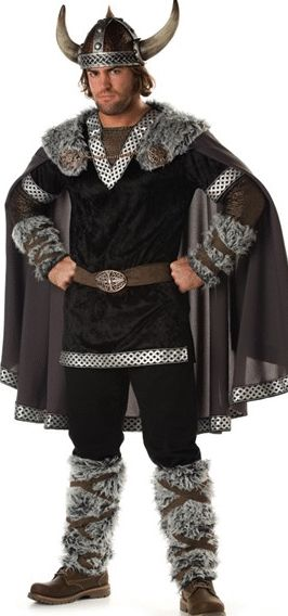 Sexy Viking Warrior - And who would mind being his princess.... #mens #viking #halloween #costumess