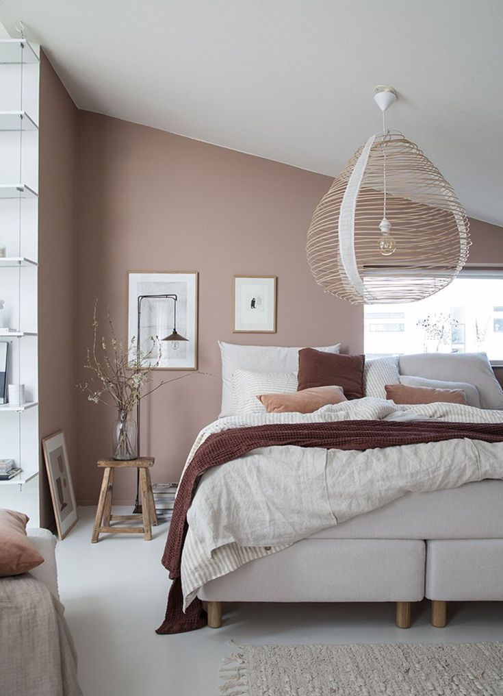 30 CHAMBRES COSANDES SCANDINAVES | Home ❤️ | Deco chambre ...
